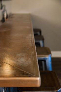 Bar Top Finish Detail