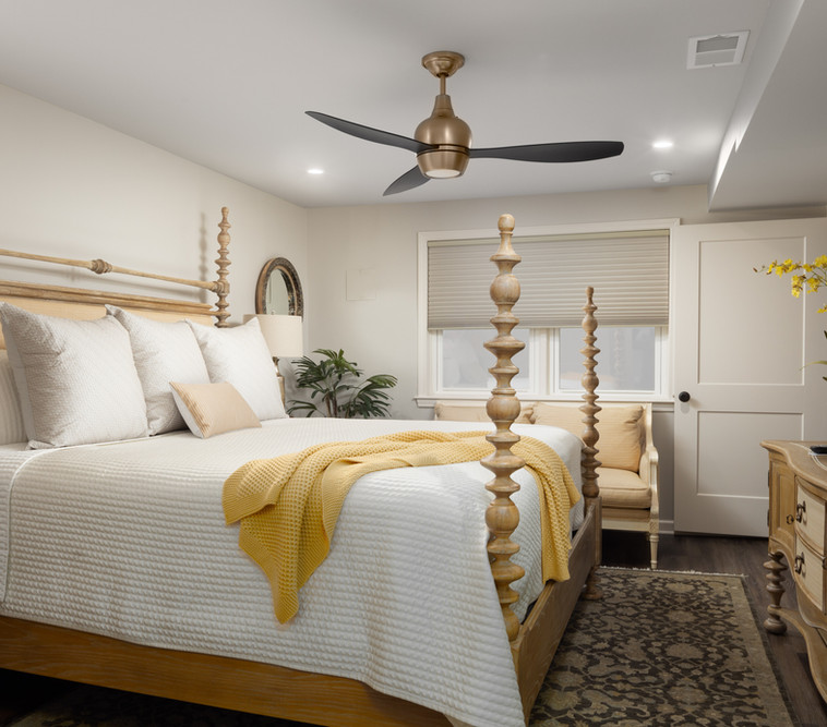 Guest Bedroom in Basement