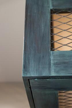 Copper Blue/Green Patina Lightbox