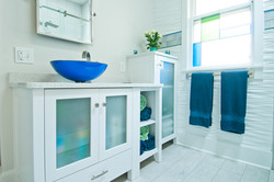 The Martin House Bathroom ADA access