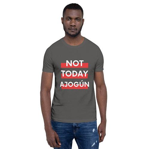 Not Today Ajogun Red - Short-Sleeve Unisex T-Shirt