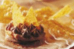 Almond meringue cakes with nougatine.jpg