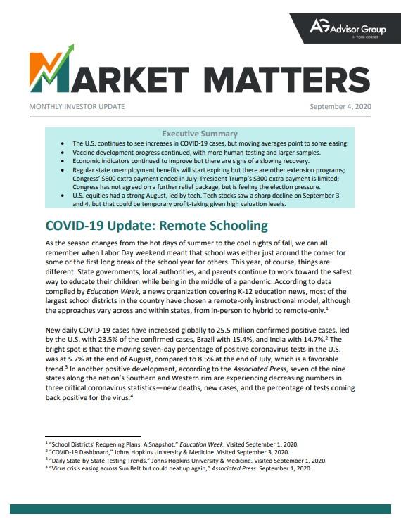 Market Matters 9-4-20