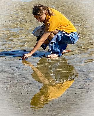 Intermediate1-Reflection on the Beach-Ba