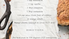 Talk of the Town Mango Cobbler Recipe