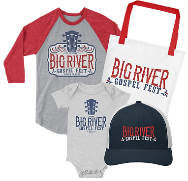 Big River Gospel Fest, Gospel Music Concert, Gulf Coast, Florida Panhandle, Outdoor Music Festival Merchandise