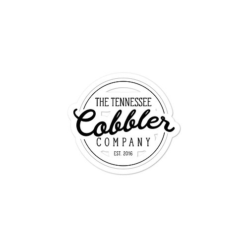 The Tennessee Cobbler Co Stickers