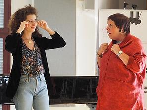 Eva Marti mit Brigitte Fassbaender © Michael Zerban