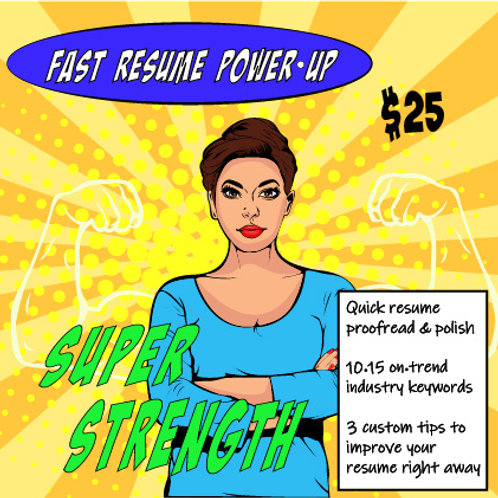 Fast Resume Power-Up: Super Strength