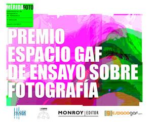 Convocatoria Premio EspacioGAF de Ensayo sobre fotografía