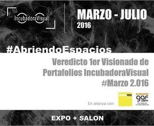 Veredicto 1er Visionado de Portafolios IncubadoraVisual+EspacioGAF+MERIDAFOTO
