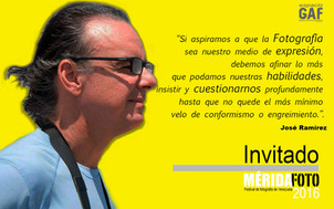 José Ramírez : Invitado MERIDAFOTO 2016