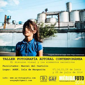 Taller de Fotografía Autoral contemporánea llega al Oriente del país.