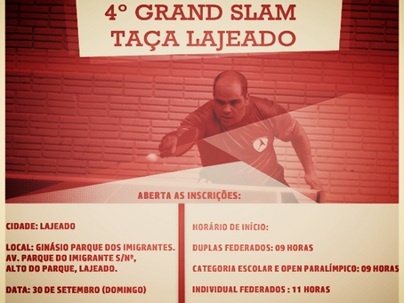 4º Grand Slam – Taça Lajeado