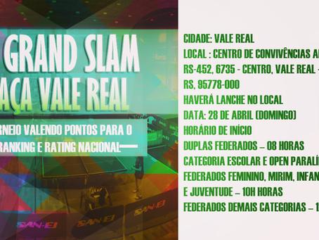 2o Grand Slam – Taça Vale Real