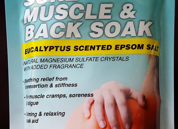Sore Muscle and Back Soak