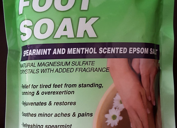Spearmint Foot Soak