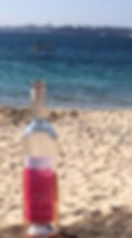 Rêve éveillé à la plage