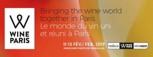 Wine Paris du 11 au 13 février !