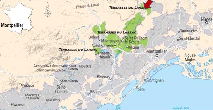 Carte domaine de l'Eglisette