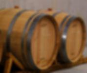 The new oak barrels for Raison folle