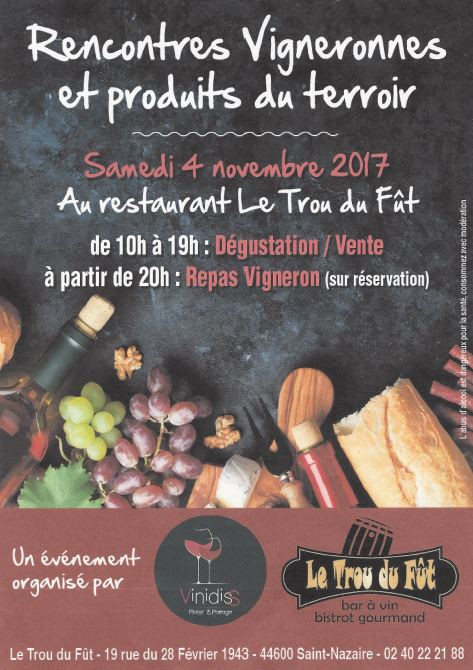 Dégustation/ Tasting à Saint Nazaire (44)