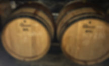 The oak barrels of Empreinte céleste