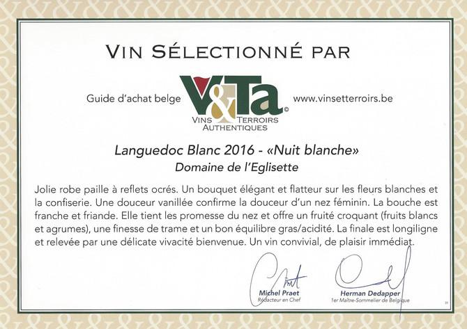 Guide Vins et Terroirs Authentiques (Belgique)