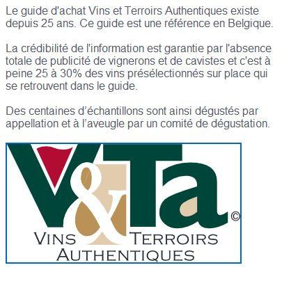 Guide Vins et Terroirs Authentiques