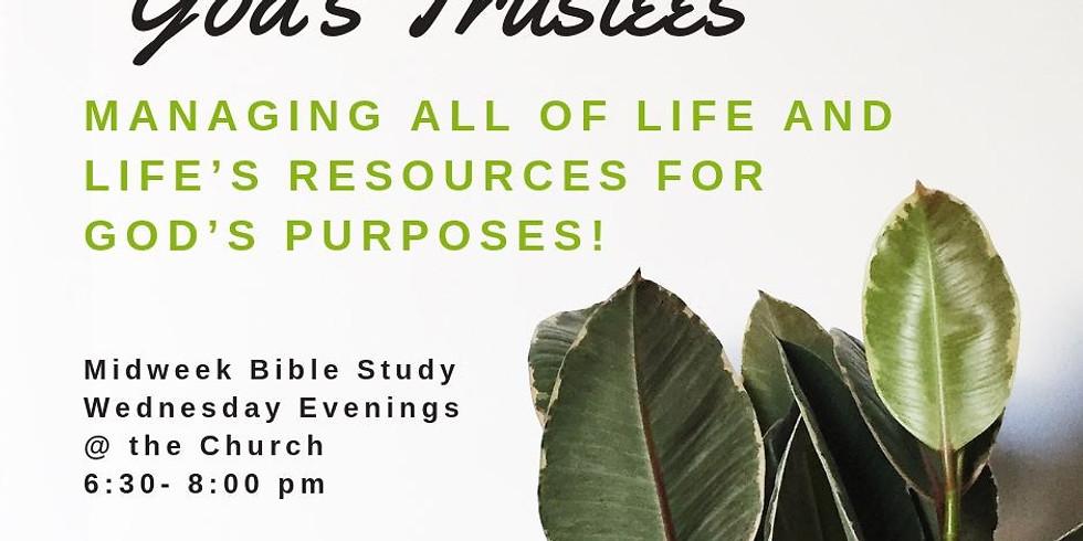 Midweek Bible Study - Wednesdays
