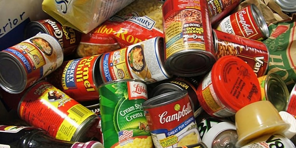 Food Bank Collection - Month of October