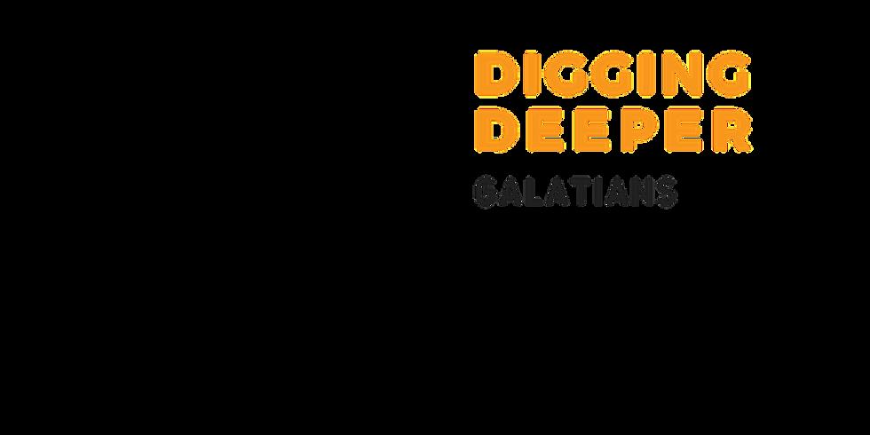 Digging Deeper into Galatians - Online Bible Study