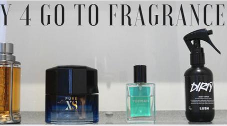 My 4 go to Fragrances  (VALENTINES gift ideas)