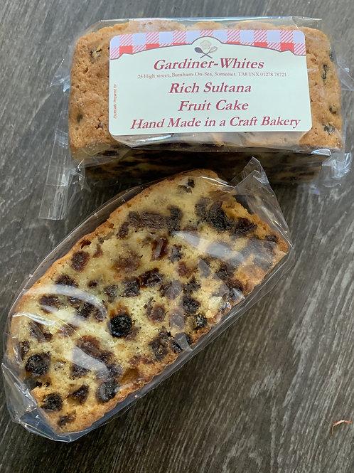 Rich Sultana Fruit Cake