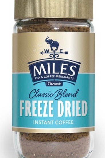 Miles Freeze Dried Instant Coffee