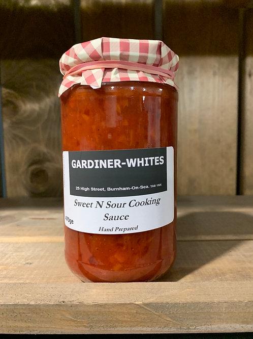 Sweet N Sour Cooking Sauce
