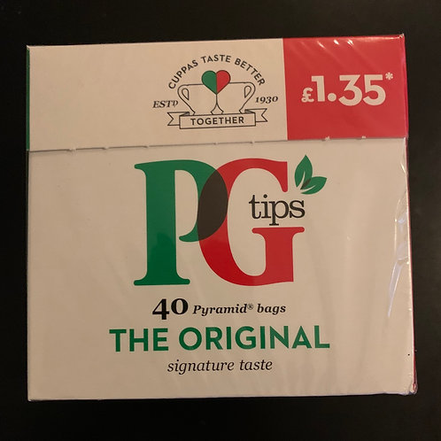 PG Tips Tea Bags  40's