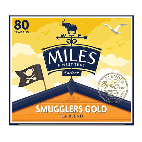 80 Miles Smugglers Gold Tea Bags