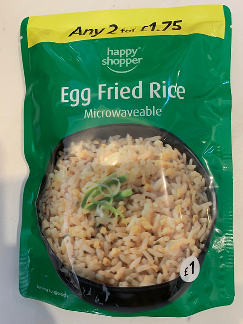 Egg Fried Rice (Microwaveable)