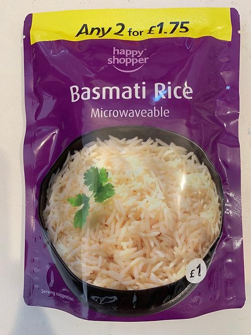Basmati Rice (Microwaveable)