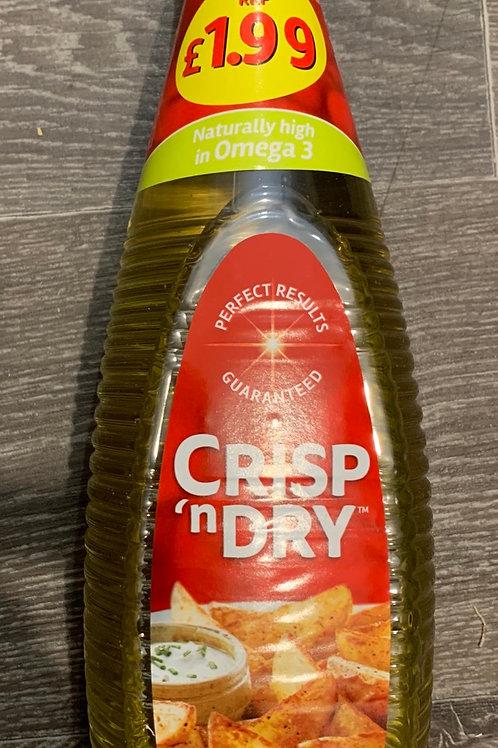 Crisp n Dry cooking oil