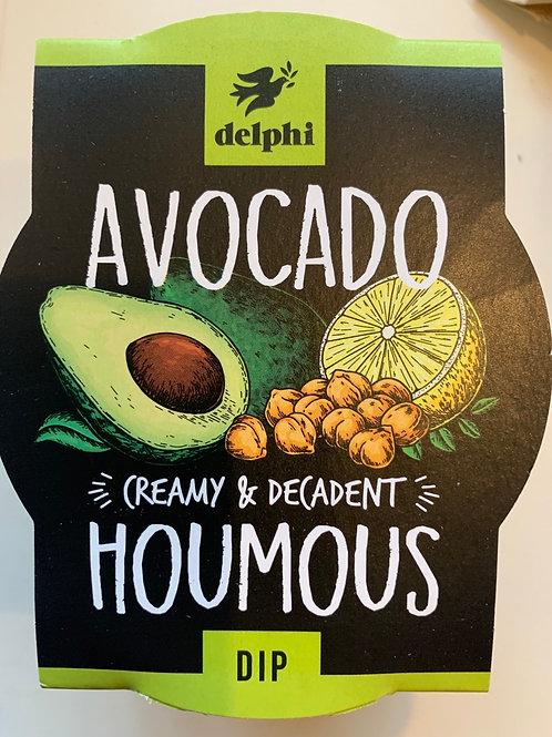 Delphi Avocado Houmous Dip