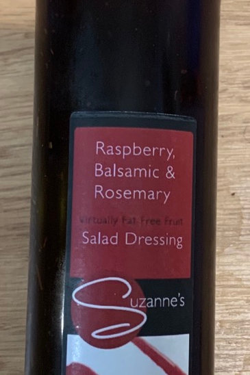 Rasberry, Balsamic & Rosemary Salad Dressing - Suzannes