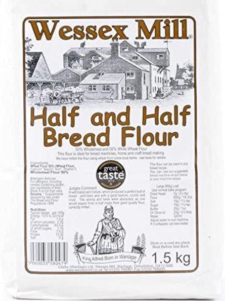 Wessex mill half and half flour