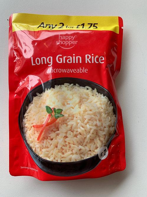 Long Grain Rice (Microwaveable)