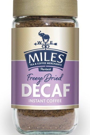 Miles Decaffeinated Instant Coffee