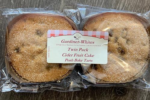 Cider Fruit Cake, twin pack