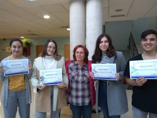 Premiados Certamen literario Antonio Robles