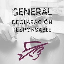 Declaración responsable
