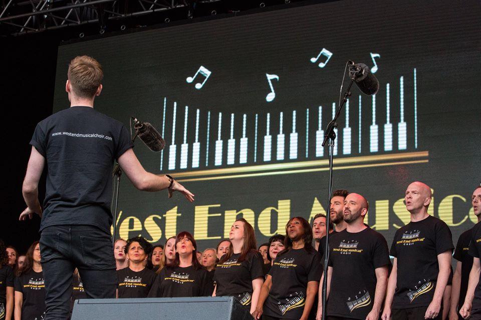 london choir no audition